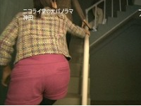 久保田アナ タイトパンツ